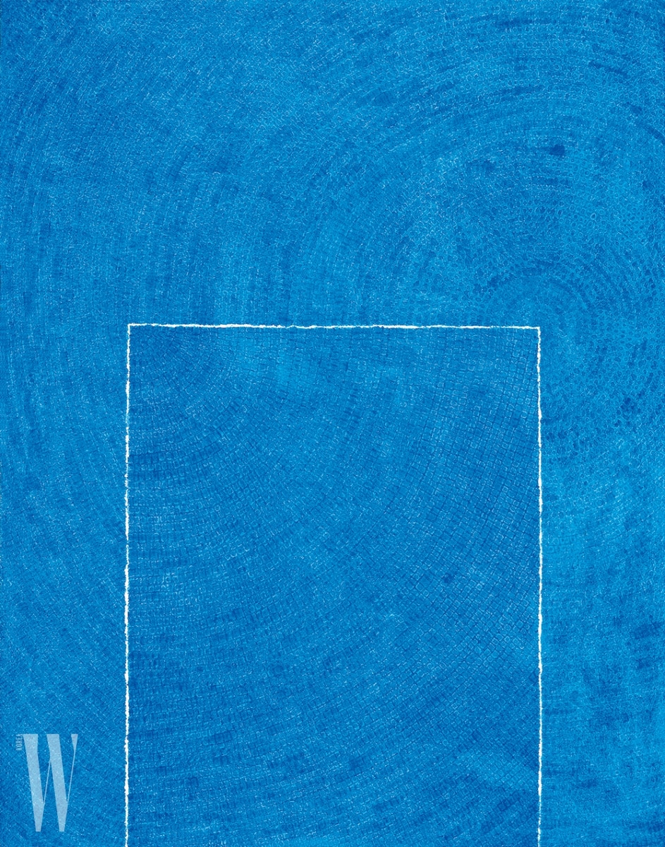 김환기, 고요 5-Ⅳ-73 #310 Tranquillity 5-Ⅳ-73 #310, 1973, Oil on Cotton, 261x205cm