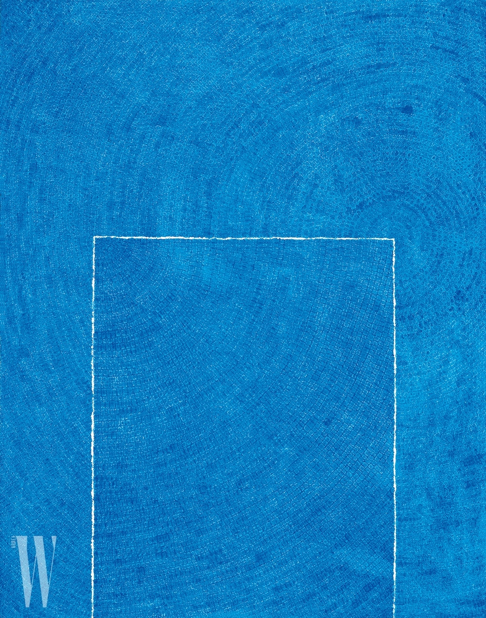 김환기, 고요 5-Ⅳ-73 #310 Tranquillity 5-Ⅳ-73 #310, 1973, Oil on Cotton, 261x205cm