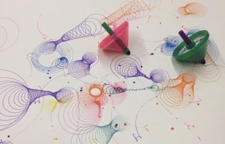 그림 그려주는 팽이, 두들탑(Doodle Top)