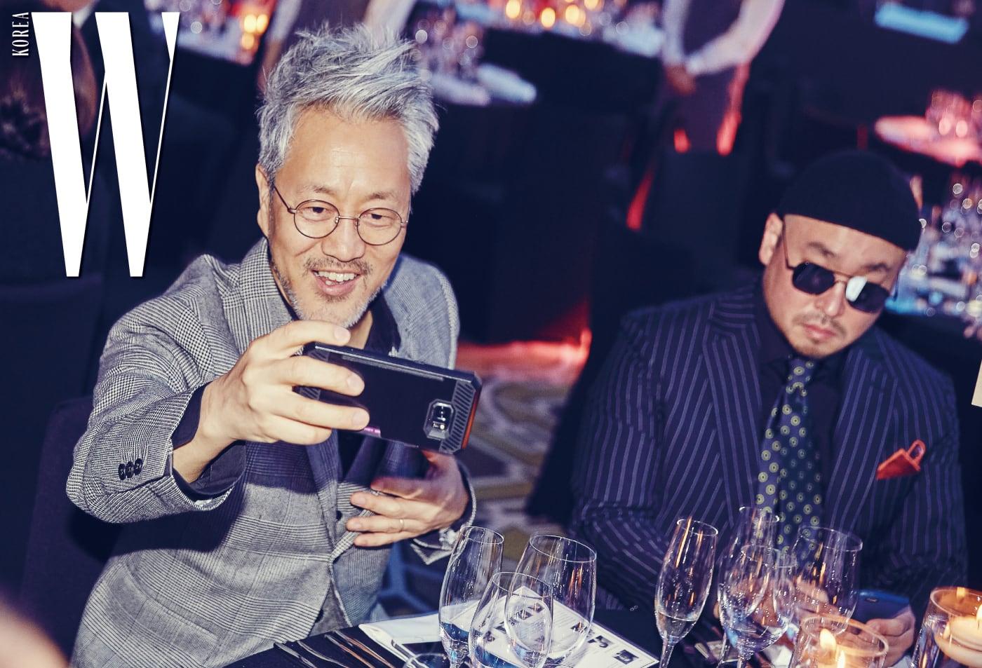 뮤지션 김종진과 길.