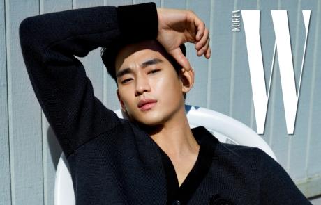 W Korea 7월호 김수현 커버