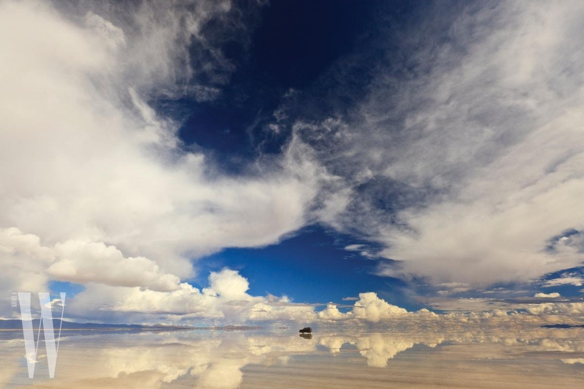 Landscape of Salar de Uyuni