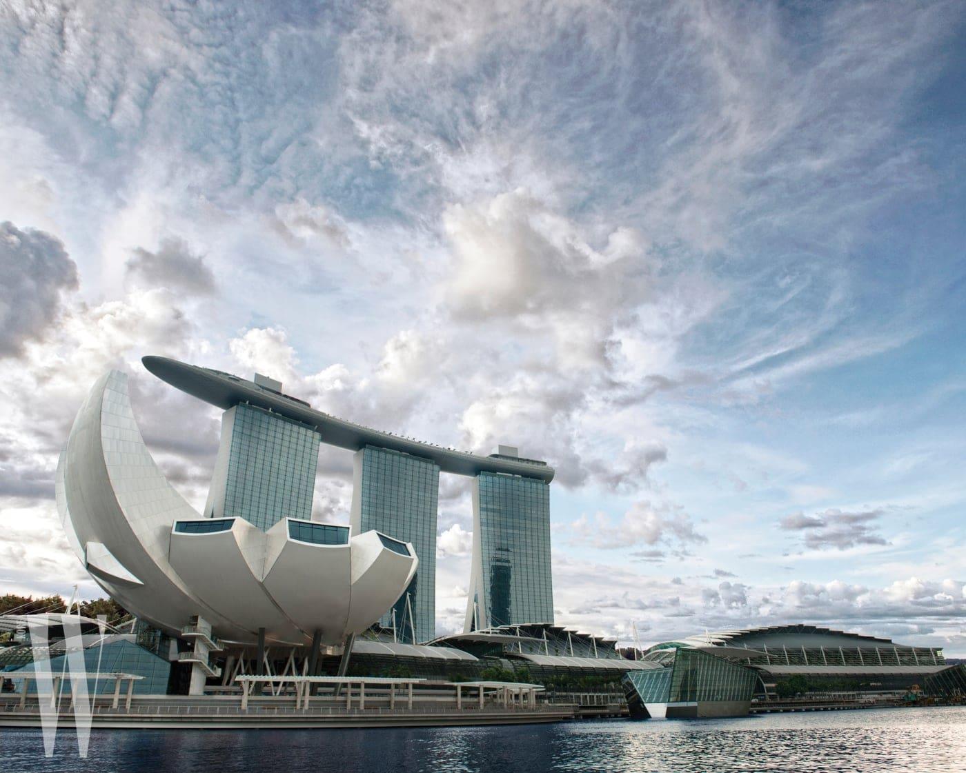 전시가 열린 싱가포르의 아트 사이언스 뮤지엄.