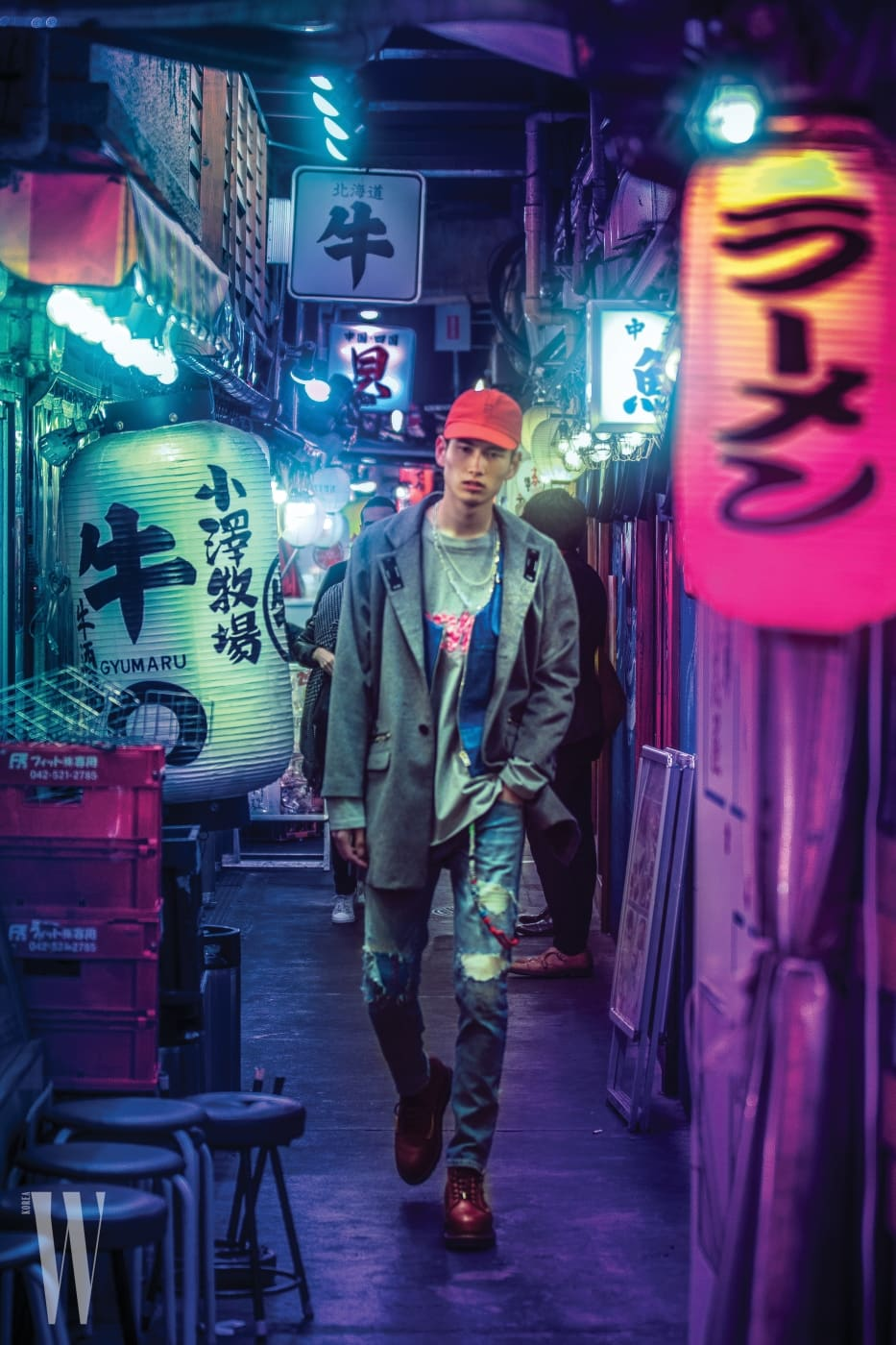 캐나다 포토그래퍼 리암 웡이 촬영한 스튜디오 세븐 시즌 3의 룩북. 도쿄의 시부야, 하라주쿠 등지에서 촬영됐다.