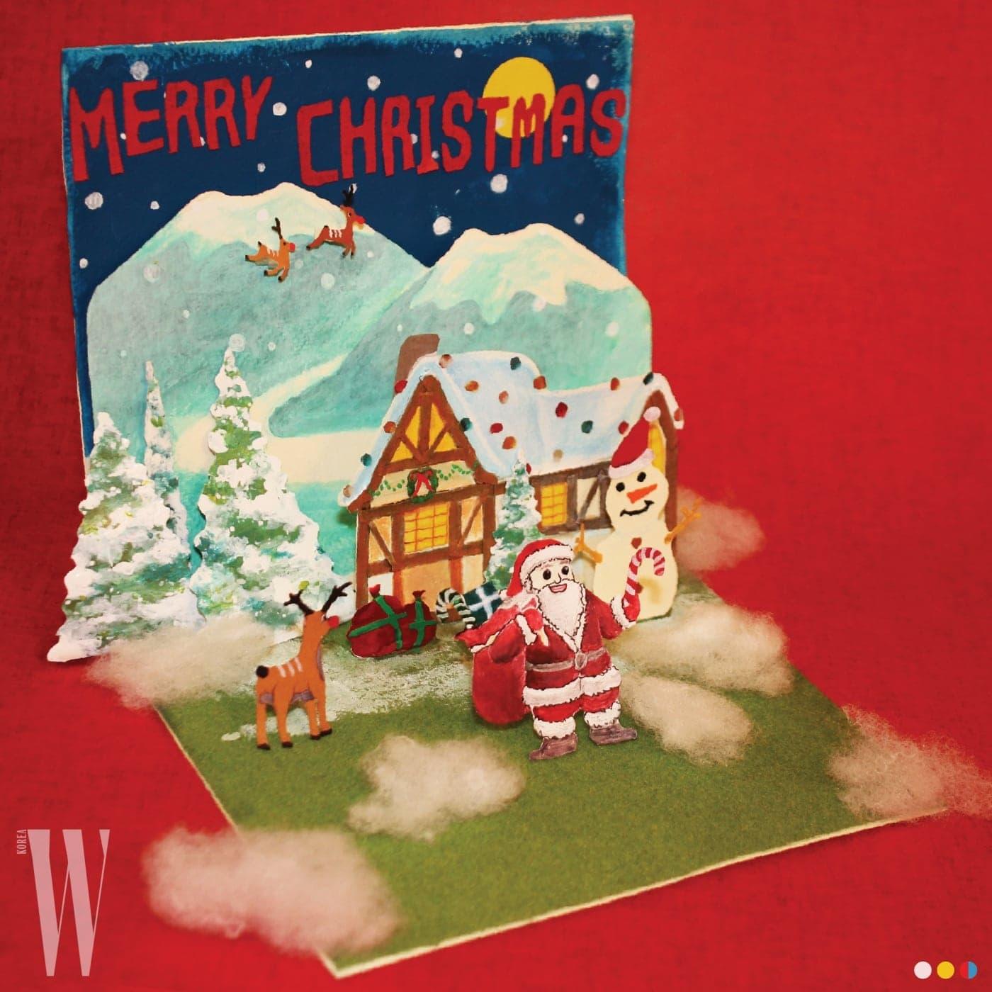 어릴 적 주고받던 크리스마스 카드에서 영감 받아 만든 아이앱 스튜디오.