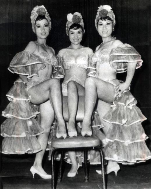 1960년대_섹시하고 화려한 미8군 트리오 걸그룹 쓰리시스터즈