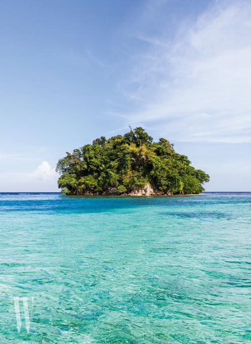 포트 안토니오를 찾는 여행객이 배를 타고 나가면 마주치는 몽키 아일랜드. 물론 섬에 원숭이는 살지 않는다.