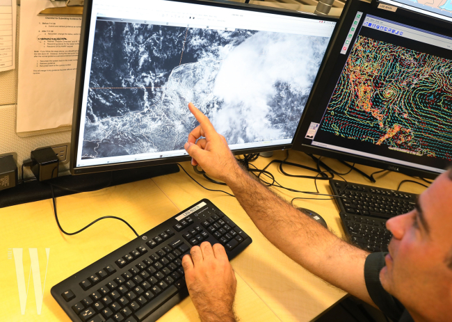 Hurricane Center In Miami Monitors First Large Storm Of Season In Gulf Of Mexico