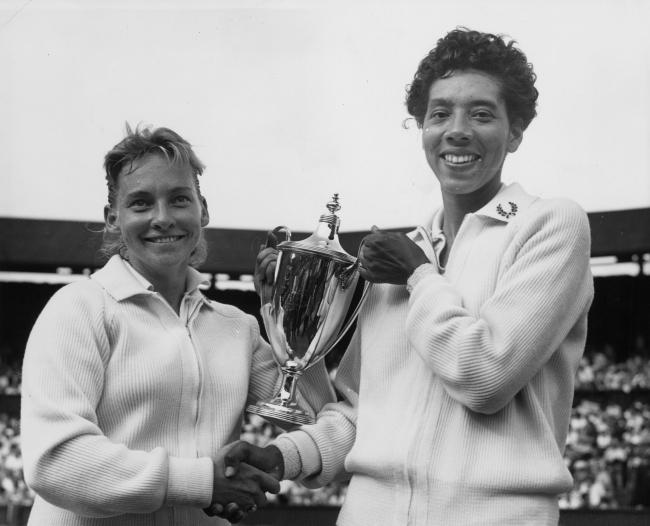 윔블던 최초 흑인 테니스 선수 앨시아 깁슨 1956