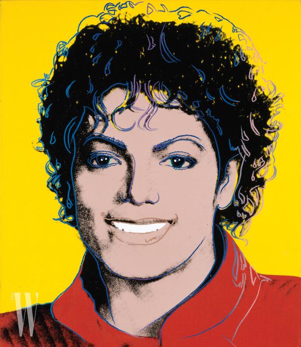 앤디 워홀의 실크스크린 작품 'MichaelJackson', 1984 Copyright: National Portrait Gallery, Smithsonian Institution, Washington D. C.; Gift of Time magazine