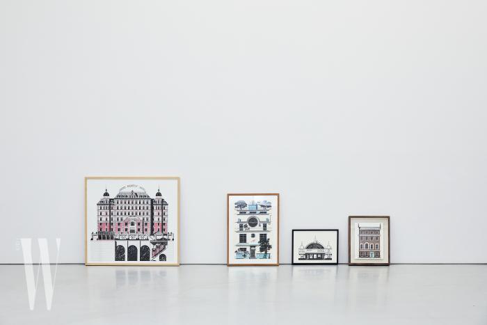 띠보 에렘이 네 가지 다른 접근 방식으로 완성해 의미 있게 여기는 섬세한 건축물 작품은 알부스 갤러리에서 열리는 전시에서 만나볼 수 있다.