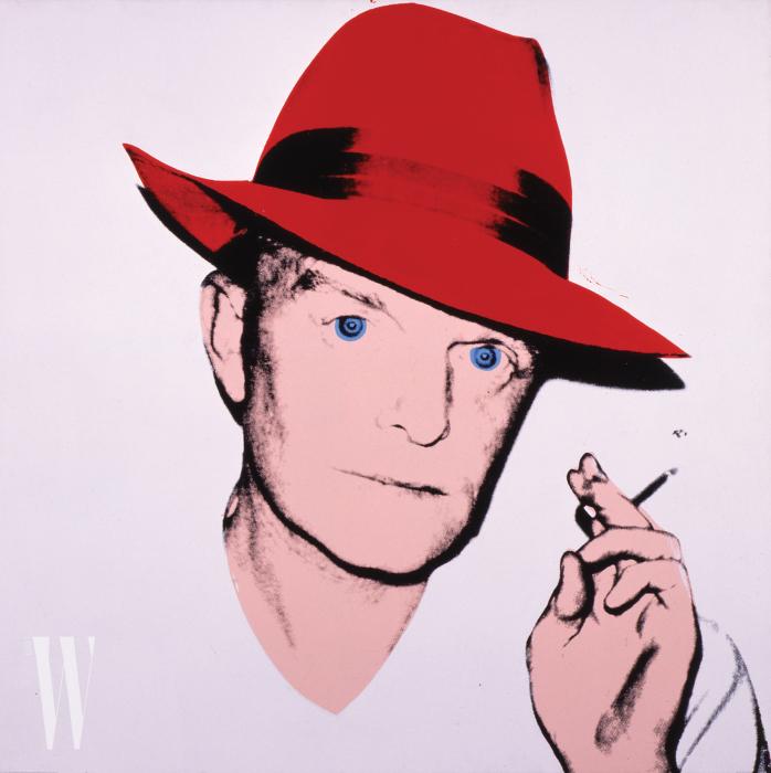 (1979). 워홀은 카포티를 자주 그렸다. 뉴욕에 처음 도착해서는 카포티에게 팬레터를 쓰고, 카포티의 어머니가 그만 좀 하라고 할 때까지 매일 집으로 전화를 했다고.