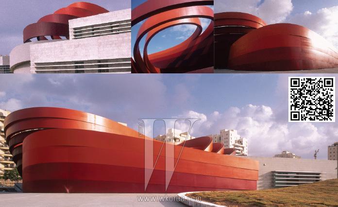 """""""호론 디자인 박물관의 외관은 그저 보기 좋은 장식이 아니다. 그 또한 하나의 구조라고 봐야 한다."""" -론 아라드"""