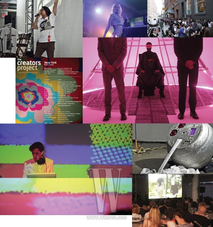 '크리에이터 프로젝트'는  매거진과 인텔이 공동으로 음악, 아트, 영화, 디자인, 건축계를 선도하는 각국의 혁신적인 아티스트 80여 명을 소개하는 프로그램이다. 그들의 작품과 예술적 비전은 http://thecreatorsproject.com사이트에서 공개되며 세계 다섯 개 도시를 순회하는 콘퍼런스에서 전시 및 퍼포먼스로도 공유된다. 한국의 크리에이터로는 송호준을 비롯해 DJ soulscape,장기하와 얼굴, 정연두, 최정화, EE, 예란지, 서상영, 피터 리, 룸펜스, Nikki S. Lee 등이 매주 업데이트될 예정이다. 송호준은 뉴욕에서 열린 이날 행사에 오픈소스인공위성 프로젝트와 '이 세상에서 가장 강력한 무기'를 선보였다.