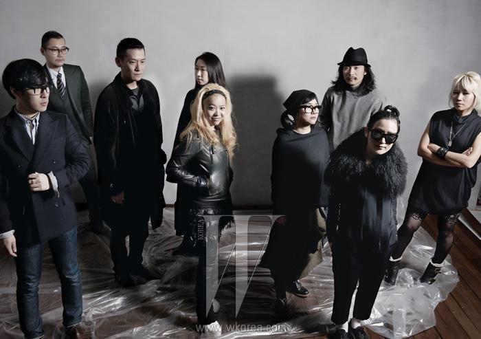 왼쪽부터 고태용, 강동준, 이재환, 홍혜진, 송해명, 박소영, 스티브, 임선옥, 요니