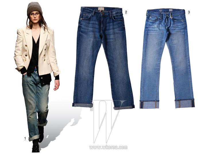 1. 2011 F/W Paull Smith. 2. Current Elliot by Steven Alan 41만8천원.3. AG Jeans by Shopaholic 39만8천원.