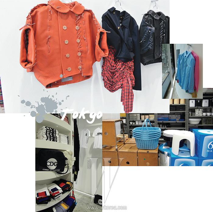 꼼데가르송이 1980년대 선보인 의상들을 비롯해 꼼데가르송의 아카이브 의상을 재생산해 판매하는 도쿄의 굿 디자인 숍. 염색한 플레이 셔츠와 각종 생활용품을 두루 만날 수 있다.