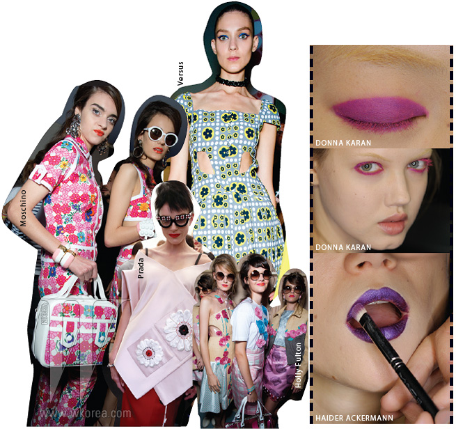 + BEAUTY 이왕 대담해질 거라면 얼굴 수위도 높이는 것이 좋겠다.봄이면 늘 시작되는 핑크, 오렌지, 코럴 컬러 전쟁이기다리고 있으니 그다지 어렵지는 않을 듯.단, 잊지 말 것은 선택과 집중. 입술이면 입술, 눈꺼풀이면눈꺼풀 어느 한곳에 집중해 강력한 에너지를 불어넣도록.밀도감 있게 꽉 채워 그린 볼드 립을 추천하지만,부담스럽다면 입술 중앙에만 물들이는 틴트도 나쁘지 않다.