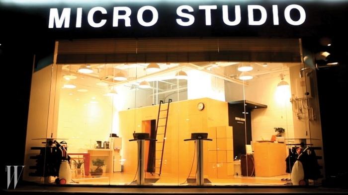 최대 2인이 수업 받을 수 있는 공간 구성으로 트레이닝의 집중도를 높인 마이크로 스튜디오.