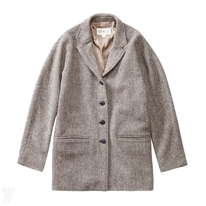 DENIM &SUPPLY RALPH LAUREN고전적인 디자인의 헤링본 재킷. 40만8천원.