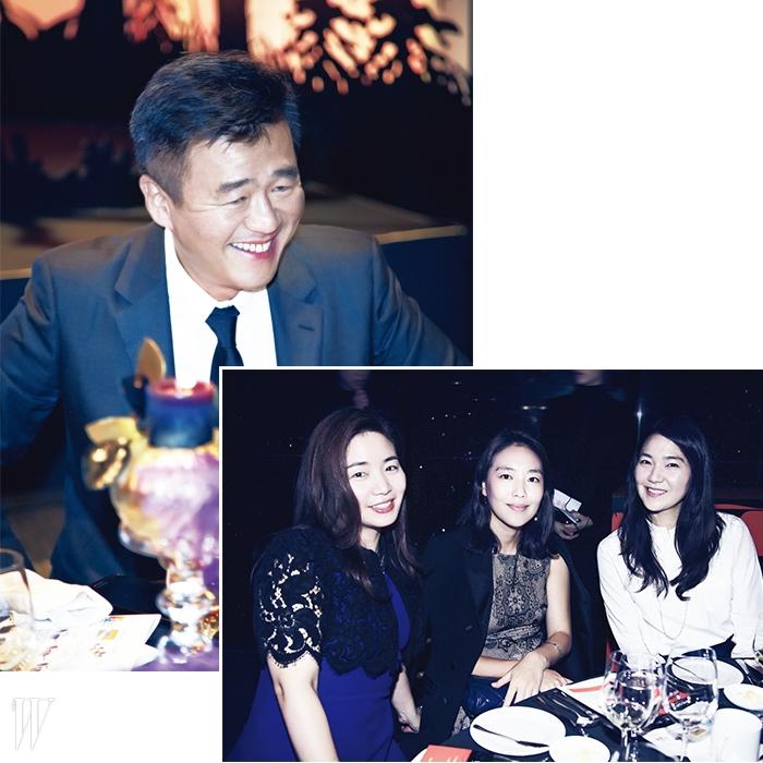 왼쪽   에스까다 신종철 대표.오른쪽   이진영, 구나윤, 홍정현.