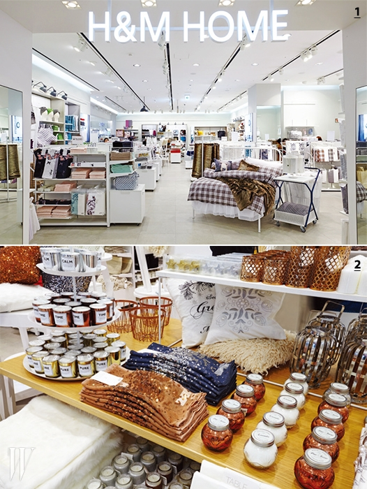 1. H&M HOME은 롯데월드 몰에첫 국내 매장을 오픈했다.2. H&M HOME에서는 저렴한 가격으로홀리데이 컬렉션 제품을 구입할 수 있다.