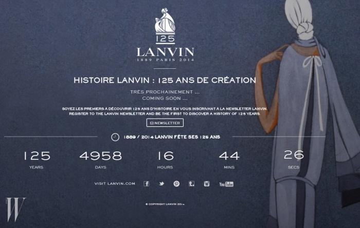 랑방 125주년1889년, 잔 랑방에 의해 설립된 랑방 하우스는 올해로 125주년을 맞았다. 이를 기념해 프랑스에서 가장 오래된 패션 하우스의 아카이브를 다양한 SNS 채널을 통해 공개했다.