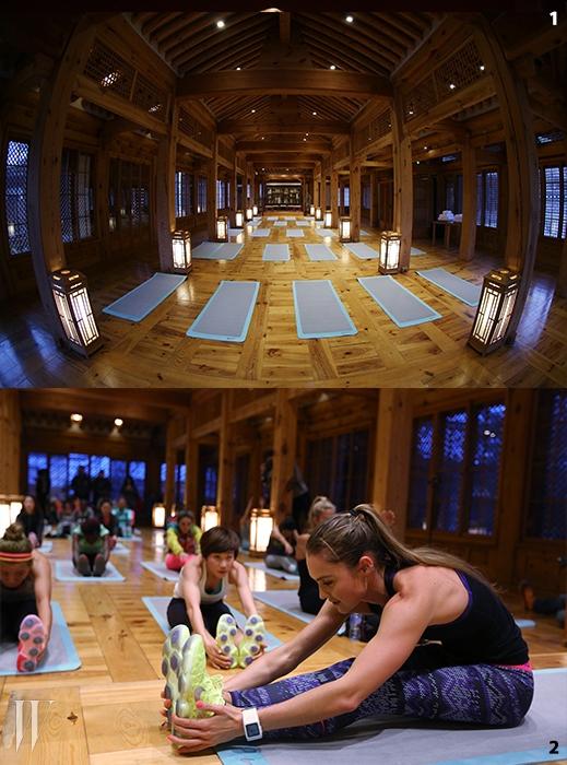 둘째 날 N+TC 크로스 트레이닝세션은 한옥의 매력을 고스란히 느낄수 있는 한국가구박물관에서 열렸다.