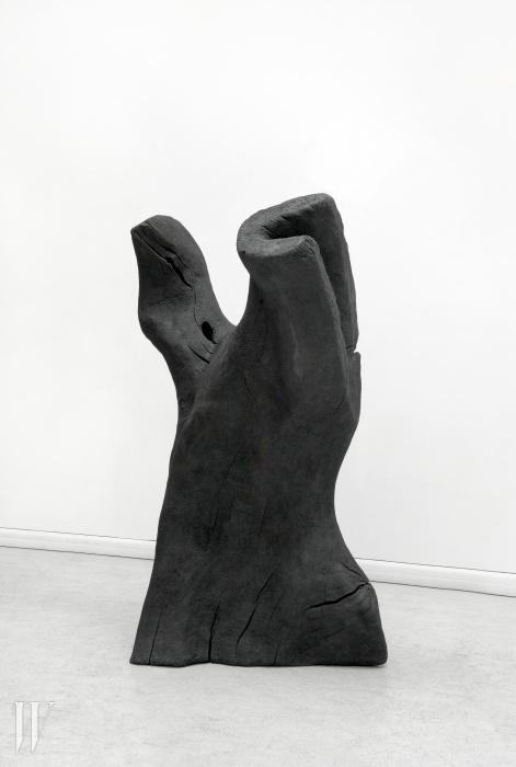'Torso', 2011Bronze, patinated black196 x 94 x 61 cm