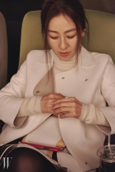 옐로 다이아몬드솔리스트오벌 링은티파니 제품.