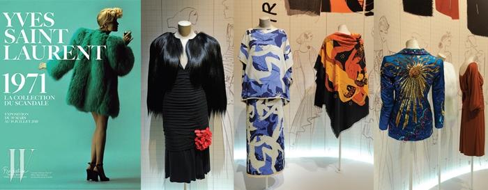 로랑의 도발제목_ Yves Saint Laurent 1971 The Scandal Collection일자_ 3/19~7/19장소_ Foundation Pierre Berge Yves Saint Laurent, Paris