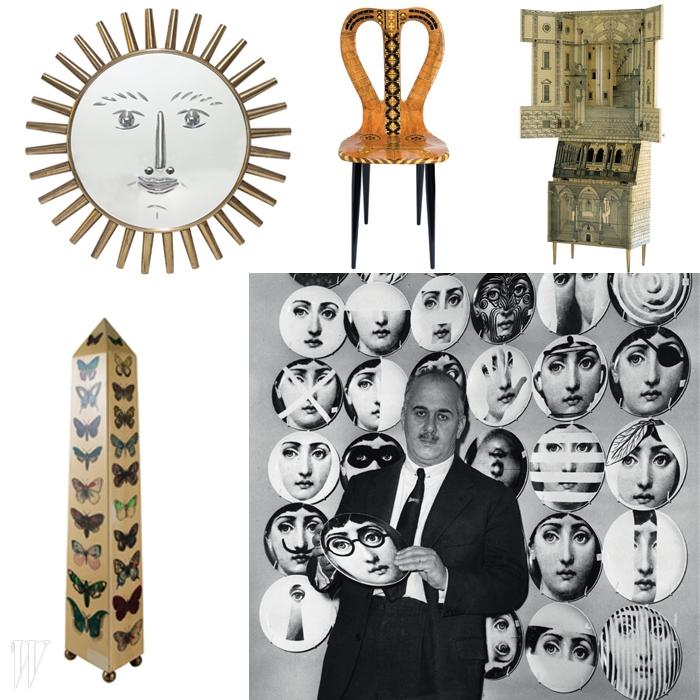 시대의 괴짜제목_ Piero Fornasetti : La Folie Pratique일자_ 3/11~6/14장소_ Les Arts Decoratifs, Paris