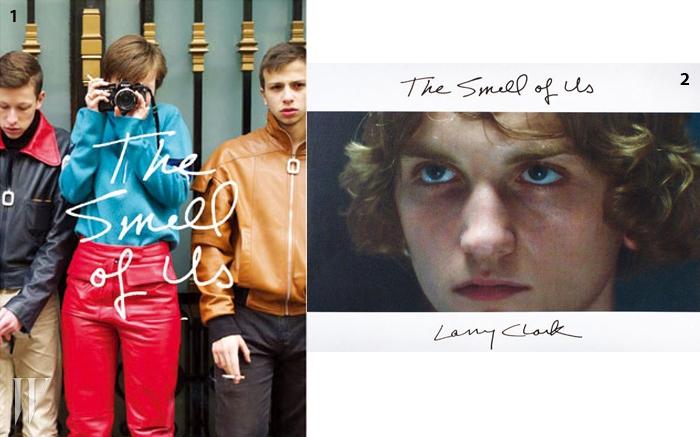 1조너선 앤더슨과 레리 클락이 협업한 사진집 .2래리 클락 영화 의 대본과 사진이 담긴 책.