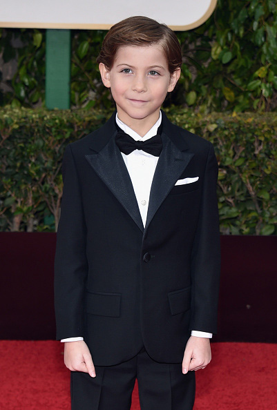 BEVERLY HILLS, CA - JANUARY 10:  Actor Jacob Tremblay attends the 73rd Annual Golden Globe Awards held at the Beverly Hilton Hotel on January 10, 2016 in Beverly Hills, California.  (Photo by John Shearer/Getty Images)