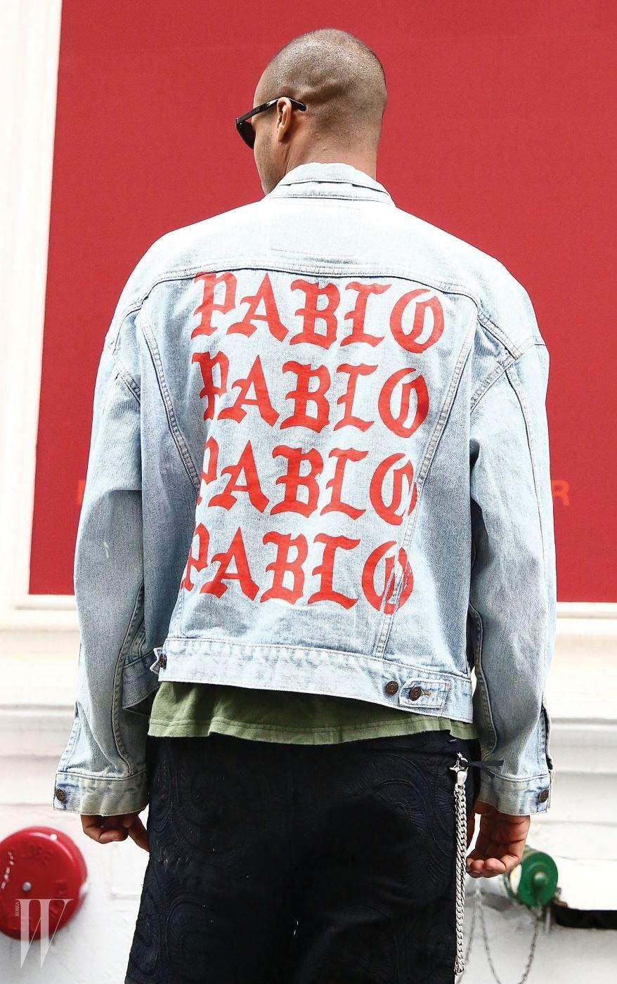 파블로 상품은 리바이스, 로스코 등에 로고만 프린트한 것이다.