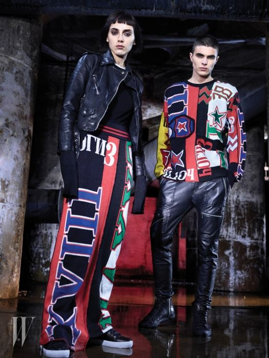 A look from Diesel's F/W 2016 collection.