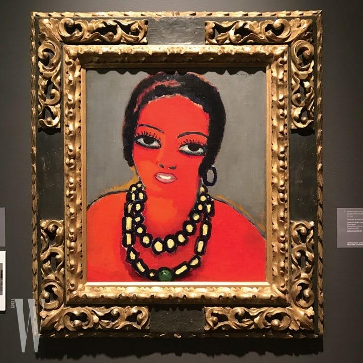 """4. """"네덜란드 출신의 프랑스 화가, '케이스 판 동언(Kees van Dongen)'의 작품은 여자가 얼마나 우아하고 파워풀한지 보여주죠. 소더비 경매에서 이 작품을 만났을 때 정말 사고 싶었어요."""""""
