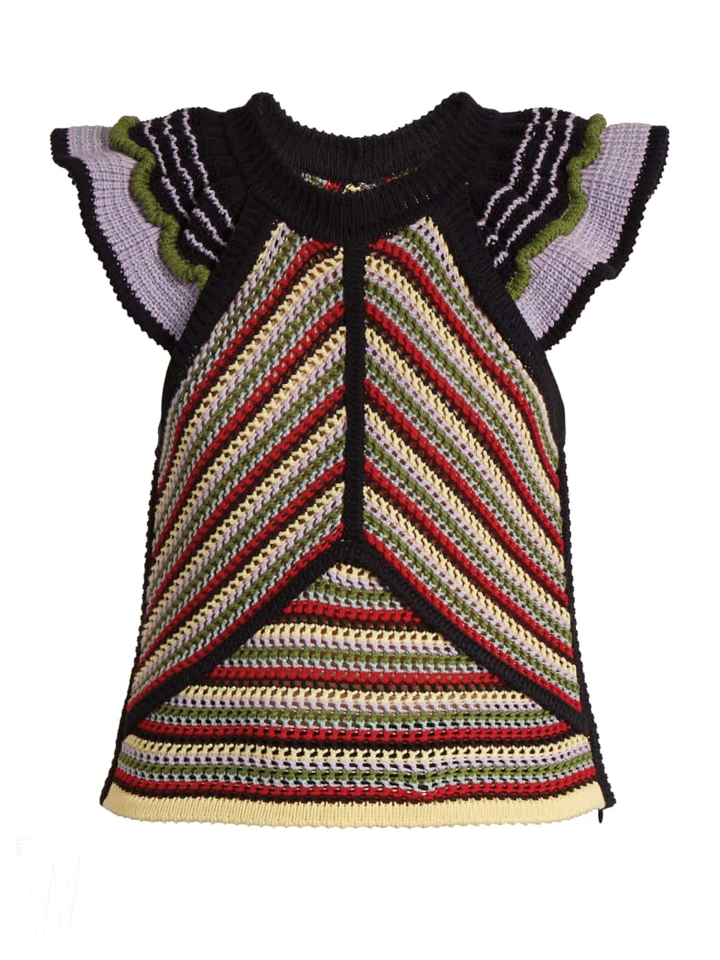 알렉사 청의 니트 뜨개질 톱.