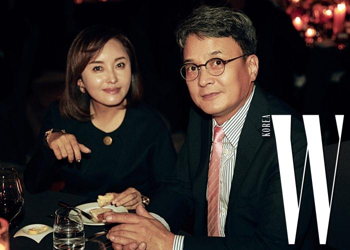 방송 그대로 잉꼬부부 모습을 보여준 김선진, 조민기 부부.