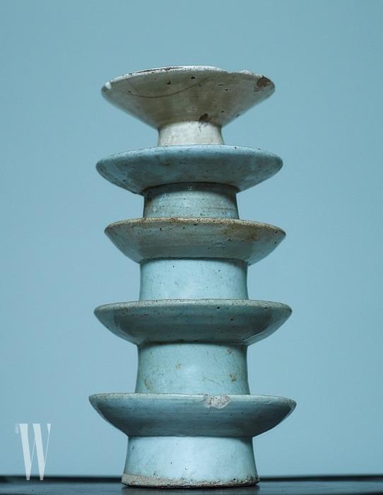 조선시대에제사상에사용한제기. 특유의푸른빛이아름답다.