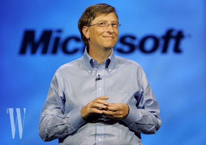 Bill Gates Attends 2007 Consumer Electronics Show