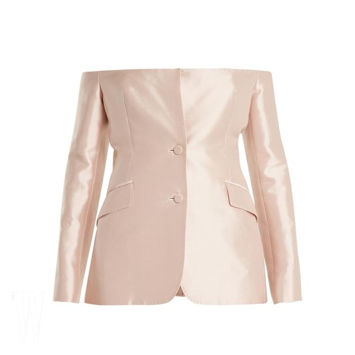 GABRIELA HEARST by MATCHESFASHION 오프숄더 실크 재킷은 가브리엘라 허스트 by 매치스패션 제품. 1백90만5천원.