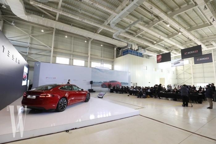 [사진자료] Tesla Model S P100D 출시 행사 (5)