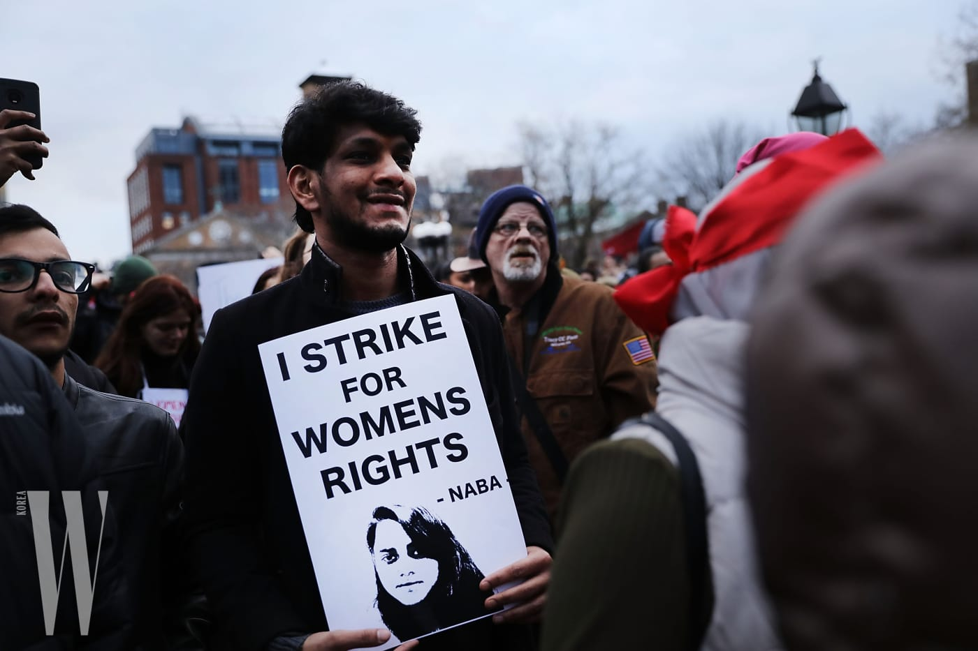 Activists Hold Women's Strike And Rally In NYC For International Women's Day