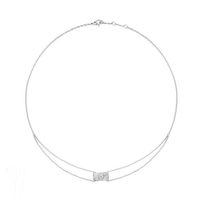 모스트 다미_CHANEL_J11357 - Pendentif Coco Crush or blanc et diamants
