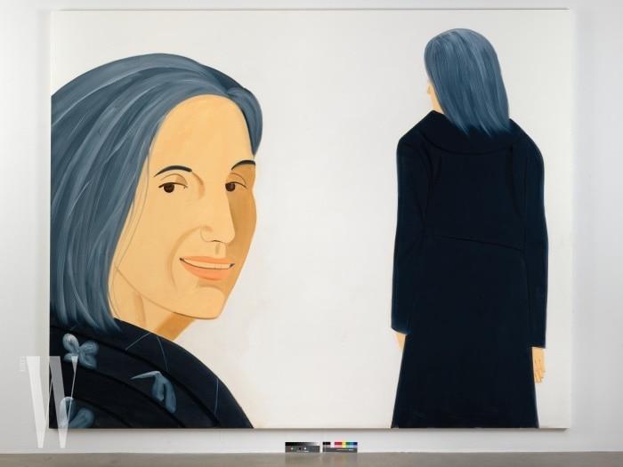 Alex Katz, Ada, 2012 Oil on linen 244 x 305 cm (96 × 120 in) ©Alex Katz, VAGA, New York/SACK, Korea 2018