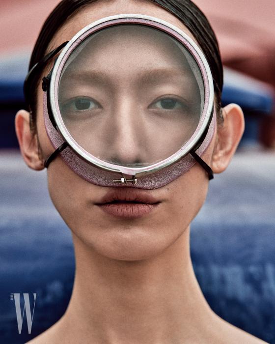 '왕눈'이라 불리는 해녀들이 쓰는 물안경.