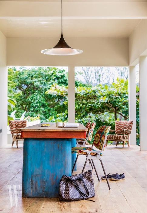 이스트 윈드 코브의 모든 객실에는 작은 정원이 딸려 있다.