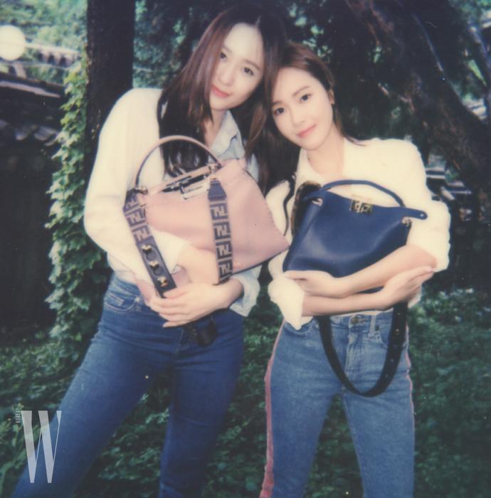EXCLUSIVE PRESS_07_Backstage_Fendi_MeAndMyPeekaboo2_Jessica and Krystal Jung