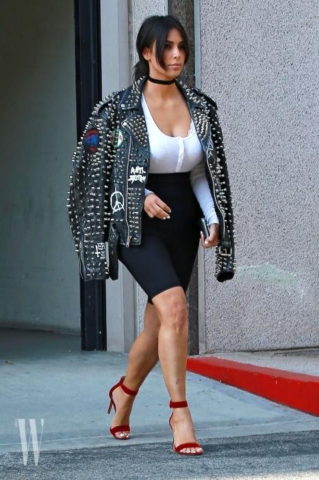 Kim And Kourtney Kardashian Are Seen Leaving A Meeting In Calabasas